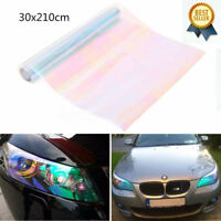 Chameleon Colorful Clear Car Truck Headlight Fog Lights Vinyl Tint Film Sticker