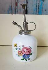 VINTAGE Plant Garden Mister Water Sprayer Porcelain Roses