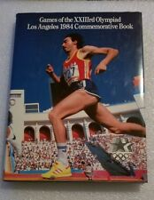 Games Of The XXIIIrd Olympiad Los Angeles 1984 Commemorative Book - 1984 Olympic