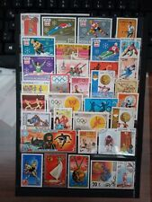 Sport Mix Briefmarken Lot Stamps Sellos Timbrres