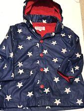 Toby Tiger Blue Star Raincoat - Sz 1 - 2 Yrs