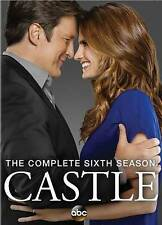 Castle: The Complete Sixth Season (DVD, 2014, 5-Disc Set)