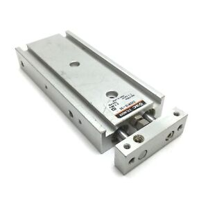 SMC CXSM10-50 Dual Rod Cylinder, Bore: 10mm, Stroke: 50mm, M5x0.8, 0.7MPa 100psi