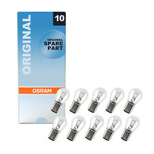 10x Genuine Osram Original 12v P21/4W (BAZ15d / 566) 21/4w Clear Bulbs [7225]