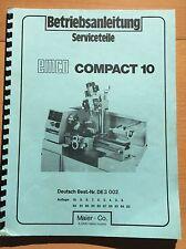 EMCO Service piezas para Compact 10