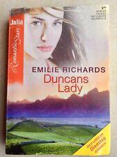 Duncans Lady, von Emilie Richards, Julia, Romantic Stars, Cora, Liebes-Roman,