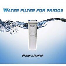 2 x  GENUINE FISHER & PAYKEL FRIDGE WATER  FILTER  836848 E402B, E442B, ES22B