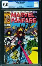 Marvel Fanfare #11 CGC 9.8 -1st appearance of Iron Maiden 1983 2057592007