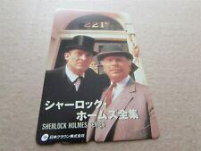 SHERLOCK HOLMES SERIES ON USED PHONECARD FROM JAPAN (29)