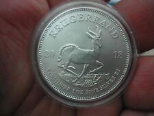 More details for 2018 south africa 1oz silver krugerrand bullion coin.