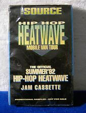 Hip Hop Heatwave Mobile Van Tour The Official Summer '92 Jam CASSETTE TAPE NEW!!