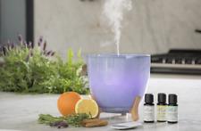 Difusor de Aroma Ellia Aspire Ultrasónico con aceites esenciales aroma ambiental del estado de ánimo