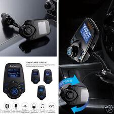 Wireless Bluetooth FM Transmitter Handsfree Car Suv USB Charger MP3 Music Player