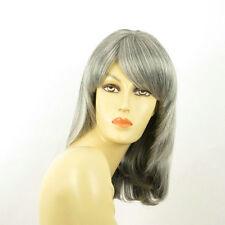 Perruque femme grise cheveux lisses ref  ODELIA 51