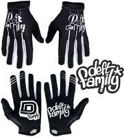 Deft Family Motocross MX Gloves Artisan Lucid Black White All Sizes bmx mtb bike