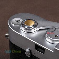 Gold Convex Soft release shutter button For Fujifilm Leica X100 Nikon Canon #07