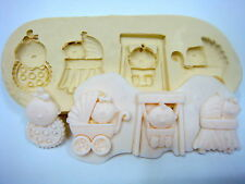 Sugarcraft Molds,Cake Decoratings,Baby Mold,Cupcake,Clay,Soap - Baby #2