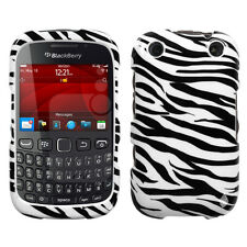 For BlackBerry Curve 9310 9320 HARD Protector Case Snap Phone Cover Zebra