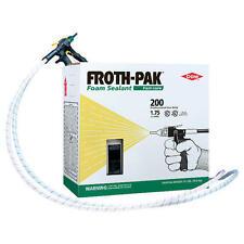Spray Foam Insulation Kit, DOW Froth Pak 200 Sealant, 200 board feet