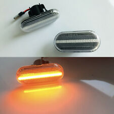 2x Dynamic Flowing LED Side Marker signal Light For Mercedes Smart Fortwo W453