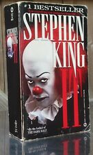 Stephen King IT Signet 1987 Tim Curry cover pb