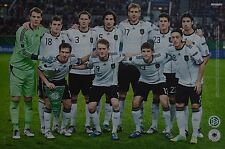DEUTSCHE NATIONALMANNSCHAFT - A3 Poster (42 x 28 cm) - Fußball Clippings NEU