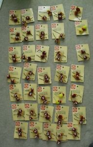 Lot of 35 Vintage 1982 Goody Doll Children Pom Pom Ponytail Holders New Stock