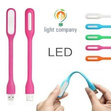 1 - 20 Pcs Flexible Mini USB LED Light Lamp Reading Bright For Notebook Laptop