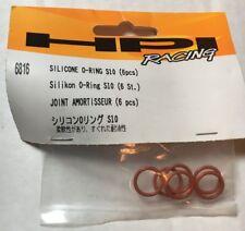 HPI 6816 Silicone O-Ring S10 (6pcs) Savage XL/Savage XS Flux