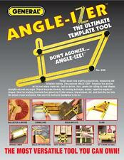 Template Tool General Tools 836 Angleizer For Repetitive Spacing Ang Gauging NG