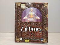 Ultima IX: Ascension COMPLETE ORIGIN Big Box Cloth Map Terot Cards 2 Discs *RARE