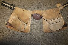 Vintage Craftsman Heavy Duty Leather Tool Belt 937723