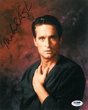 Michael Douglas Signed Authentic Autographed 8x10 Photo (PSA/DNA) #I72453