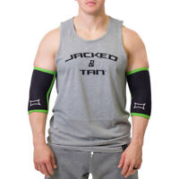 Sling Shot Sport Elbow Sleeves by Mark Bell - Black/Green