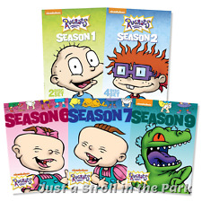 Rugrats: Nickelodeon 1990s Series Complete Seasons 1 2 6 7 9 Box/DVD Set(s) NEW!