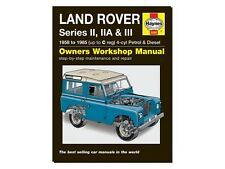 buy 3 series land rover car manuals literature ebay rh ebay co uk land rover series iii owner's manual pdf land rover discovery 3 owner manual