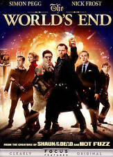 THE WORLD'S END (DVD 2013)~ BRAND NEW~ SIMON PEGG & NICK FROST STAR~