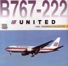 DRAGON WINGS UNITED AIRLINES Boeing B 767 1:400 Diecast Civil Plane Model 55204