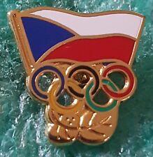 CZECHOSLOVAK OLYMPICS COMMITTEE  OLD PIN BADGE