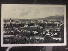 1938 Czechoslovakia Sudetenland Censored Postcard Cover Pesov View