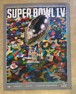 Super Bowl 2021 55 LV Official STADIUM Edition Program NEW SHIPPED IN A BOX