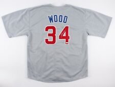 Kerry Wood Signed Cubs Jersey (JSA COA) Rookie Record 20 K's one game 05/06/88
