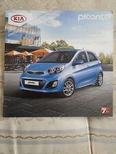 Kia Picanto range brochure c2008 Irish market
