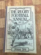 Le rugby football Annual 1937 - 38