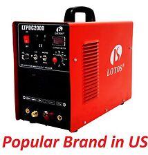 LTPDC2000 3in1 240V 50a Pilot Arc Plasma Cutter 200a TIG and Stick Welder