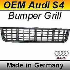 Original Audi S4 LOWER Grill Euro Genuine OEM Grille A4 B6 (01-05) black