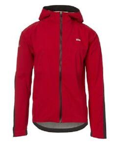 GIRO Havoc H2O Jacket dark red / storm blue XL o. S Fahrrad-Regenjacke - NEU -