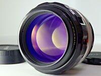 Nikon Nikkor-H Auto 85mm f1.8 non AI MF Portrait Lens Japan JP SLR [Excellent!!]