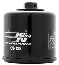 K&N OIL FILTER 2 Pack KN-138 SUZUKI M109R GSXR KAWASAKI ARCTIC KYMCO APRILIA