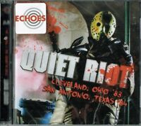 QUIET RIOT - Cleveland '83 / San Antonio '84 (Double cd / Brand new & sealed )